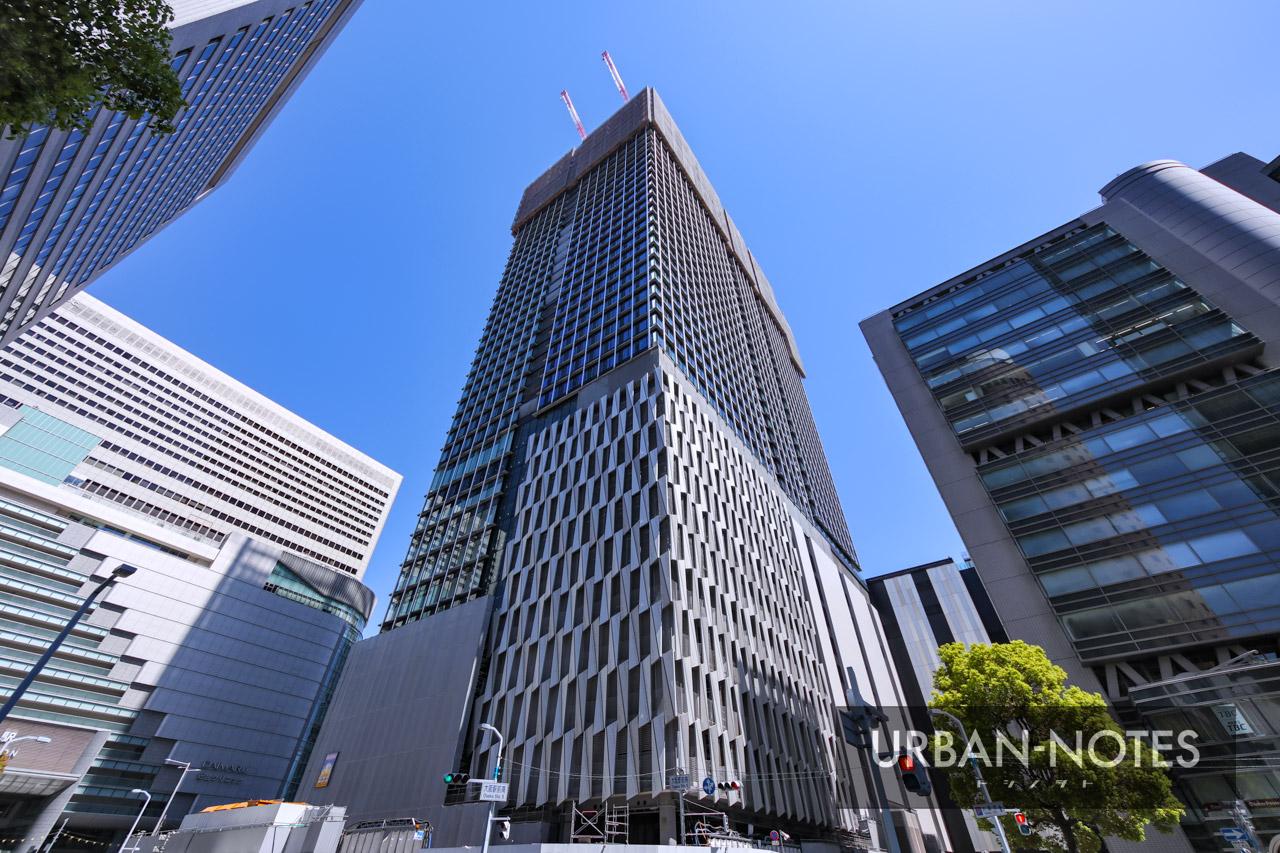 大阪梅田ツインタワーズ・サウス (梅田1丁目1番地計画) 2021年4月 05