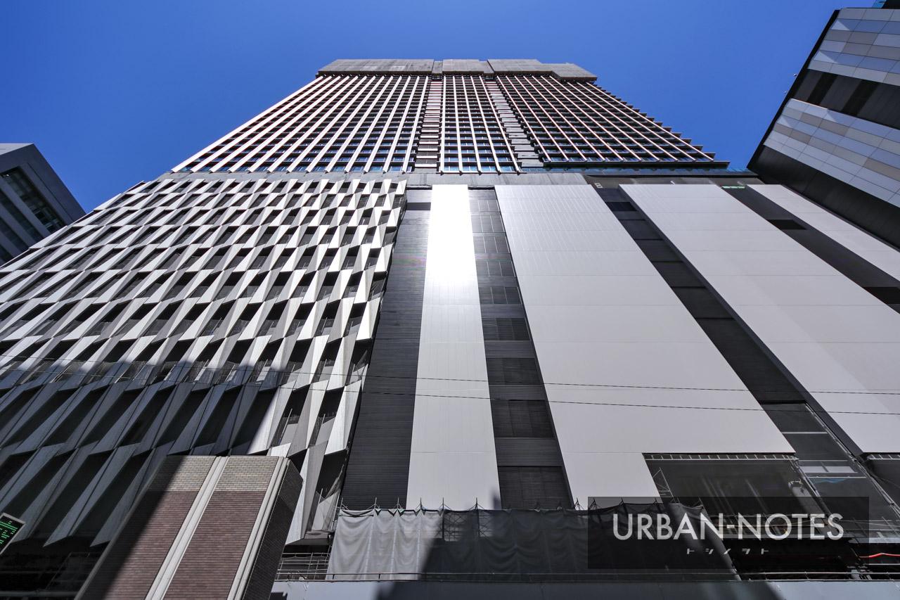 大阪梅田ツインタワーズ・サウス (梅田1丁目1番地計画) 2021年4月 07