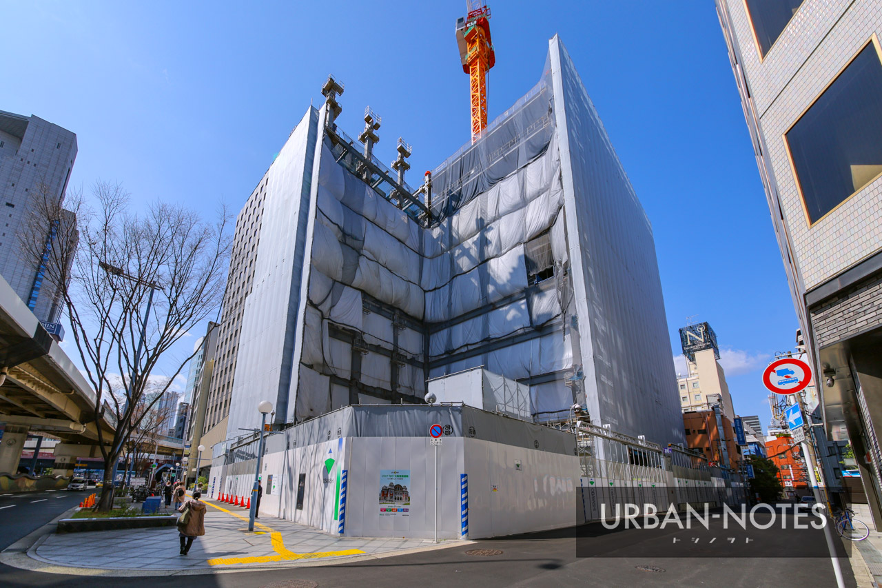 新曽根崎ビル(仮称)新築工事 2021年3月 01