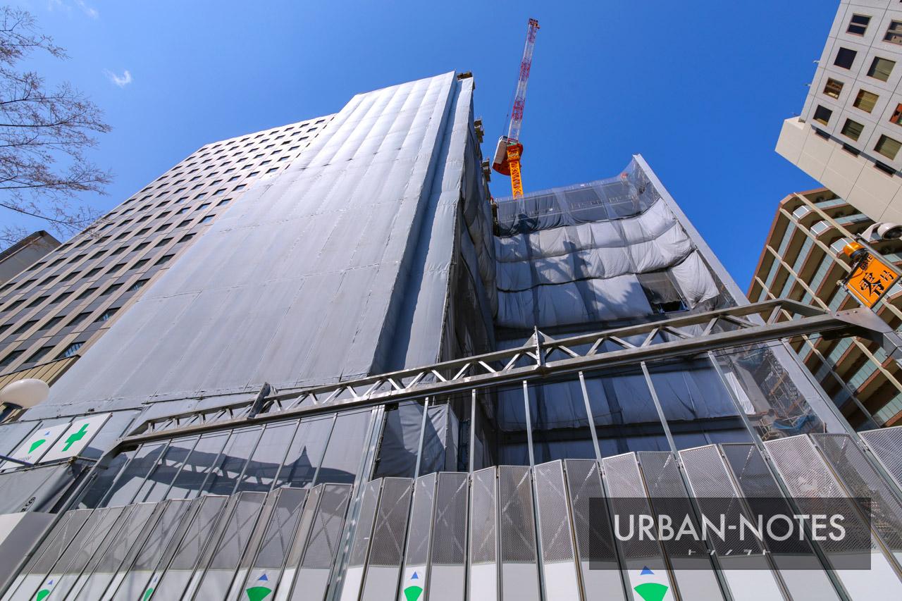新曽根崎ビル(仮称)新築工事 2021年3月 02