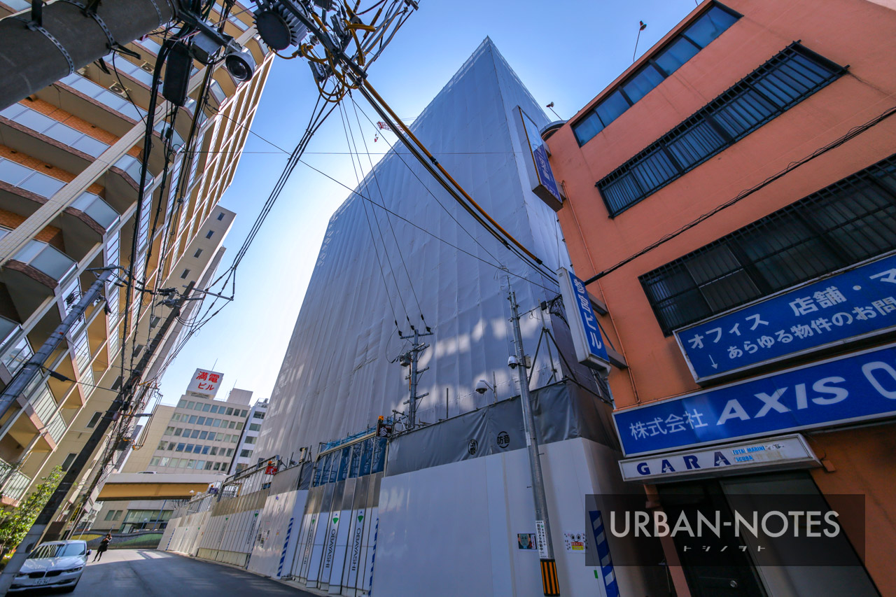 新曽根崎ビル(仮称)新築工事 2021年3月 05