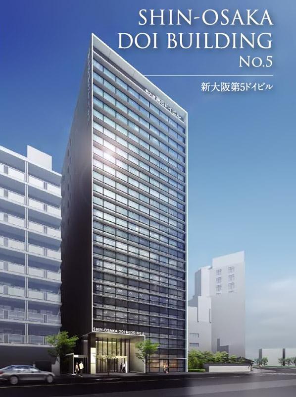 新大阪第5ドイビル 完成イメージ図