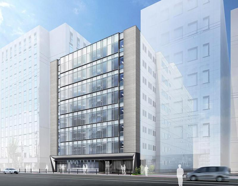 (仮称)新大阪オフィスⅡ計画 完成イメージ図