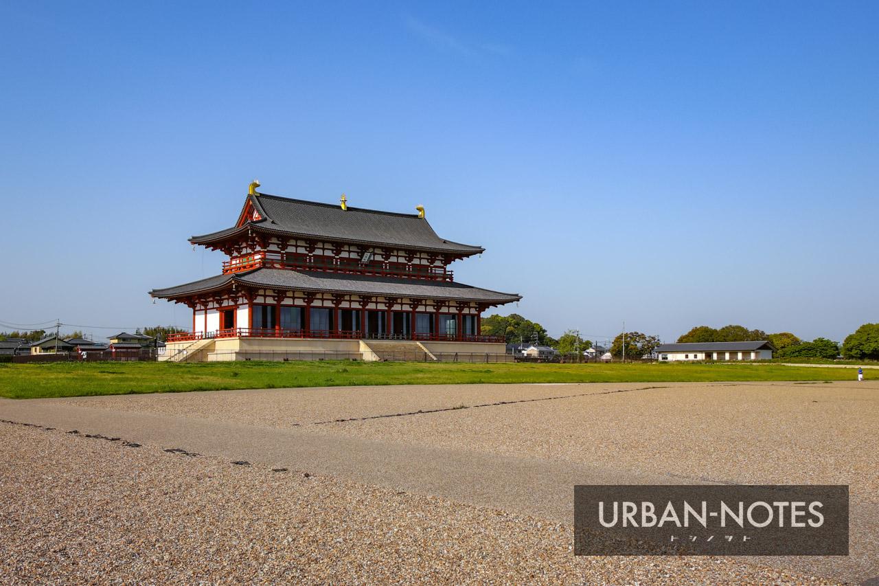 平城宮跡歴史公園 第一次大極殿正殿 2021年4月