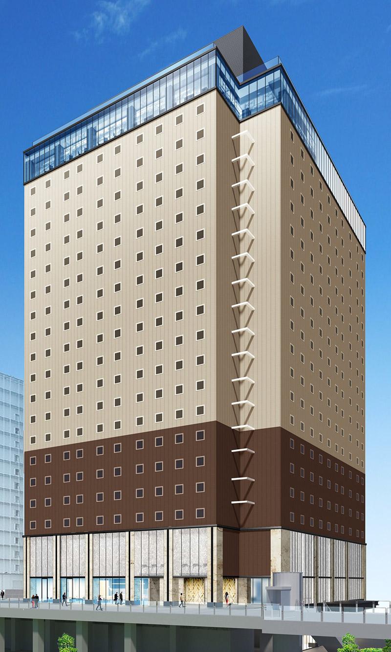 ホテルWBFグランデ関西エアポート 完成イメージ図