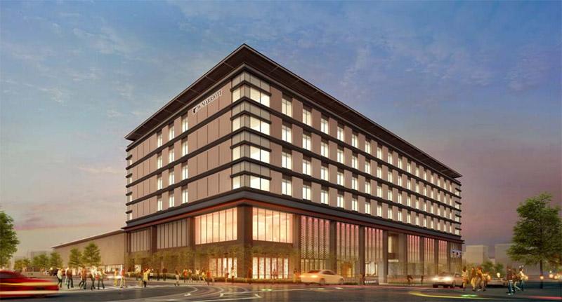 JWマリオットホテル奈良 完成イメージ図