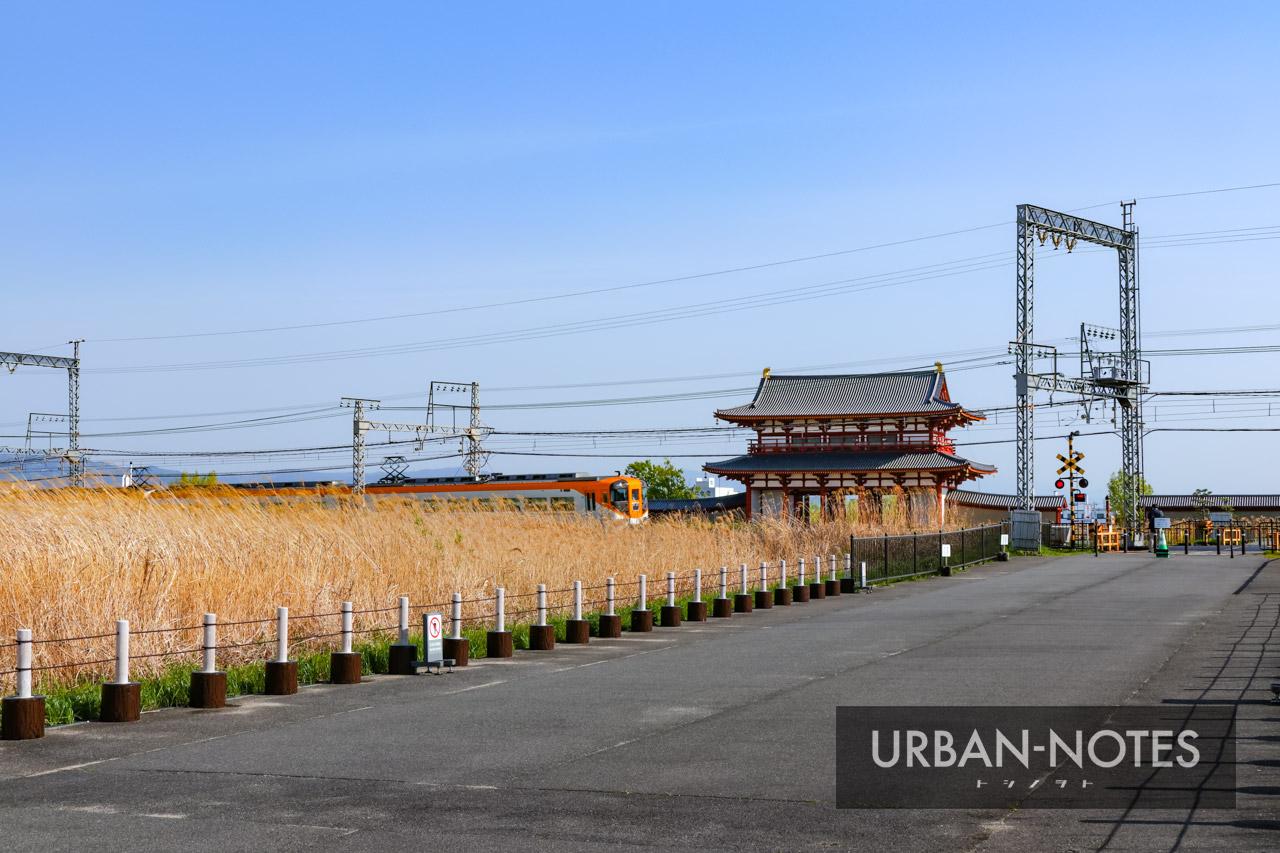 大和西大寺駅高架化・近鉄奈良線移設事業 2021年4月 06