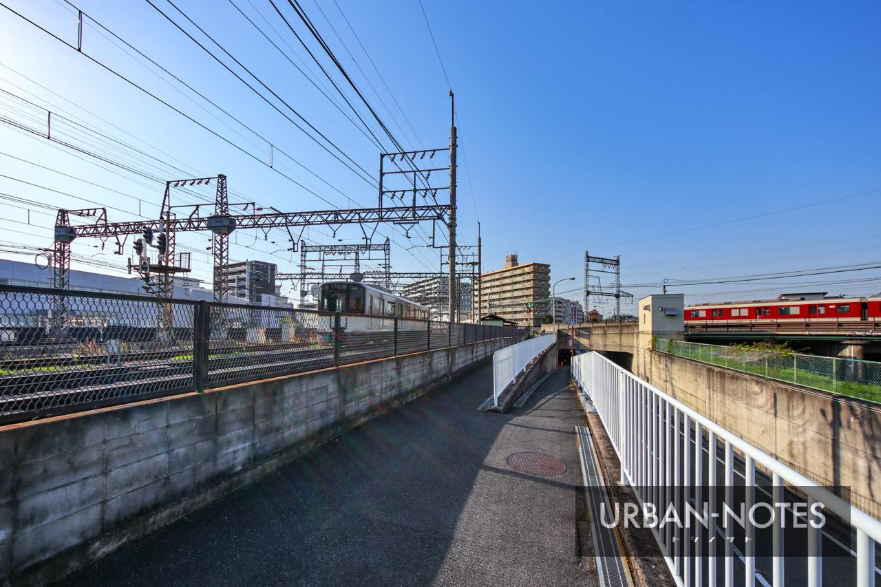 大和西大寺駅高架化・近鉄奈良線移設事業 2021年4月 07