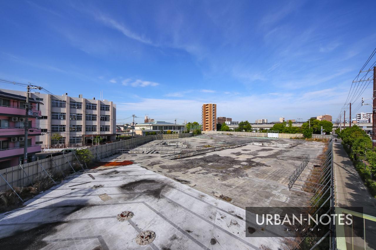 シャープ旧本社ビル跡地 ニトリ建設予定地 2021年5月 03