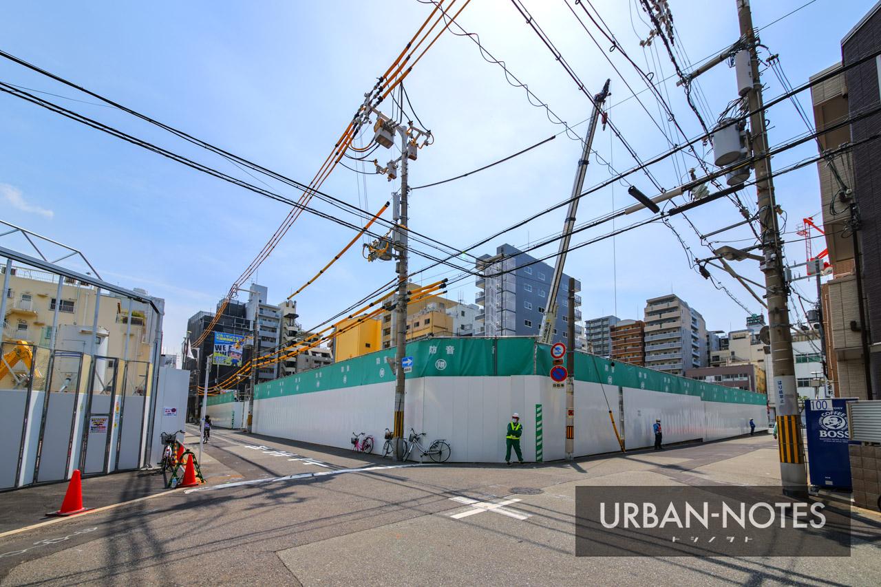 (仮称)大国町ビル新築工事 2021年5月 01