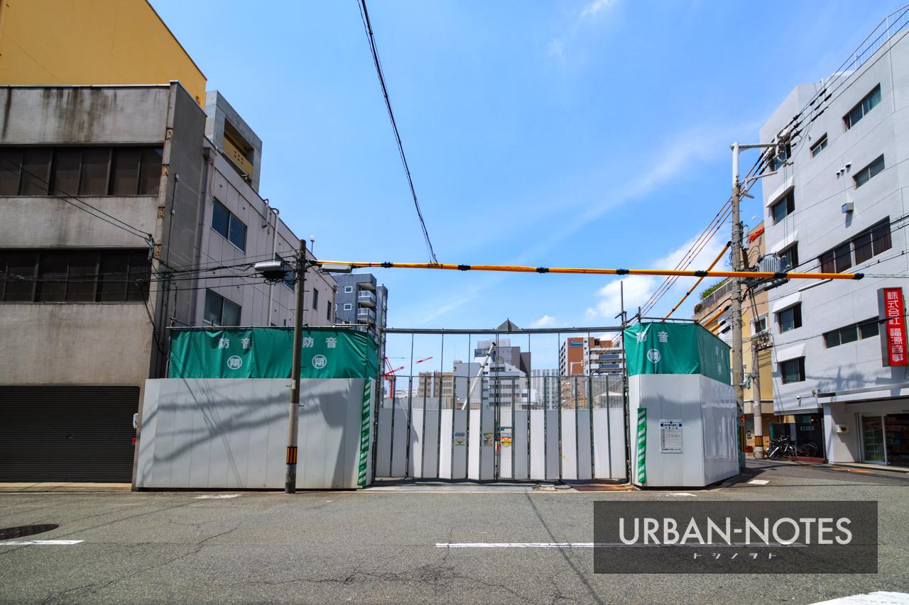 (仮称)大国町ビル新築工事 2021年5月 03