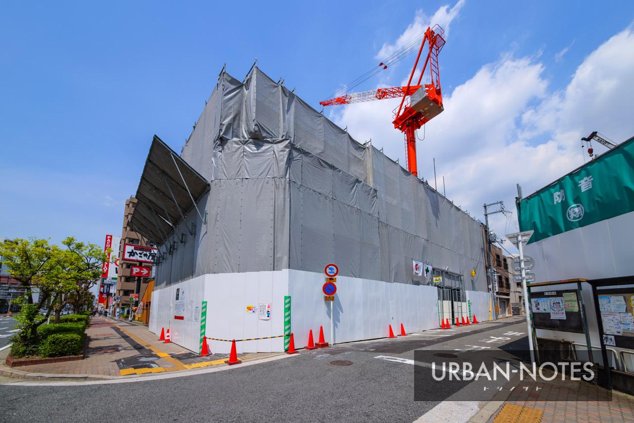 (仮称)エステムコート浪速区敷津東2丁目 新築工事 2021年5月 01