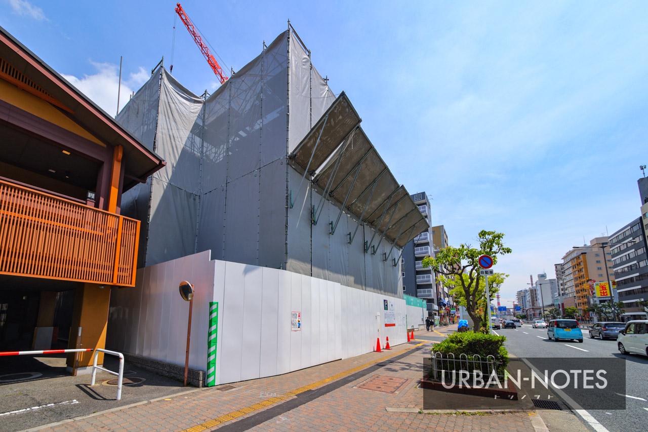 (仮称)エステムコート浪速区敷津東2丁目 新築工事 2021年5月 02