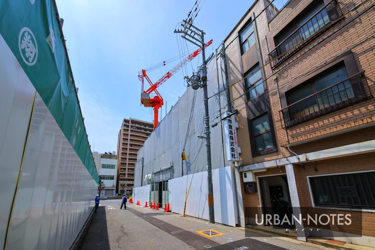 (仮称)エステムコート浪速区敷津東2丁目 新築工事 2021年5月 03