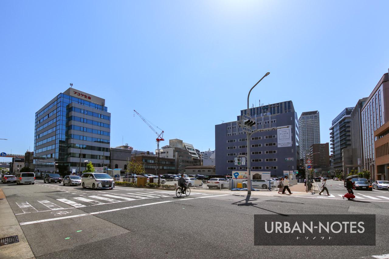銀泉神戸ビル(旧神戸住友ビル)跡地 2021年5月 01