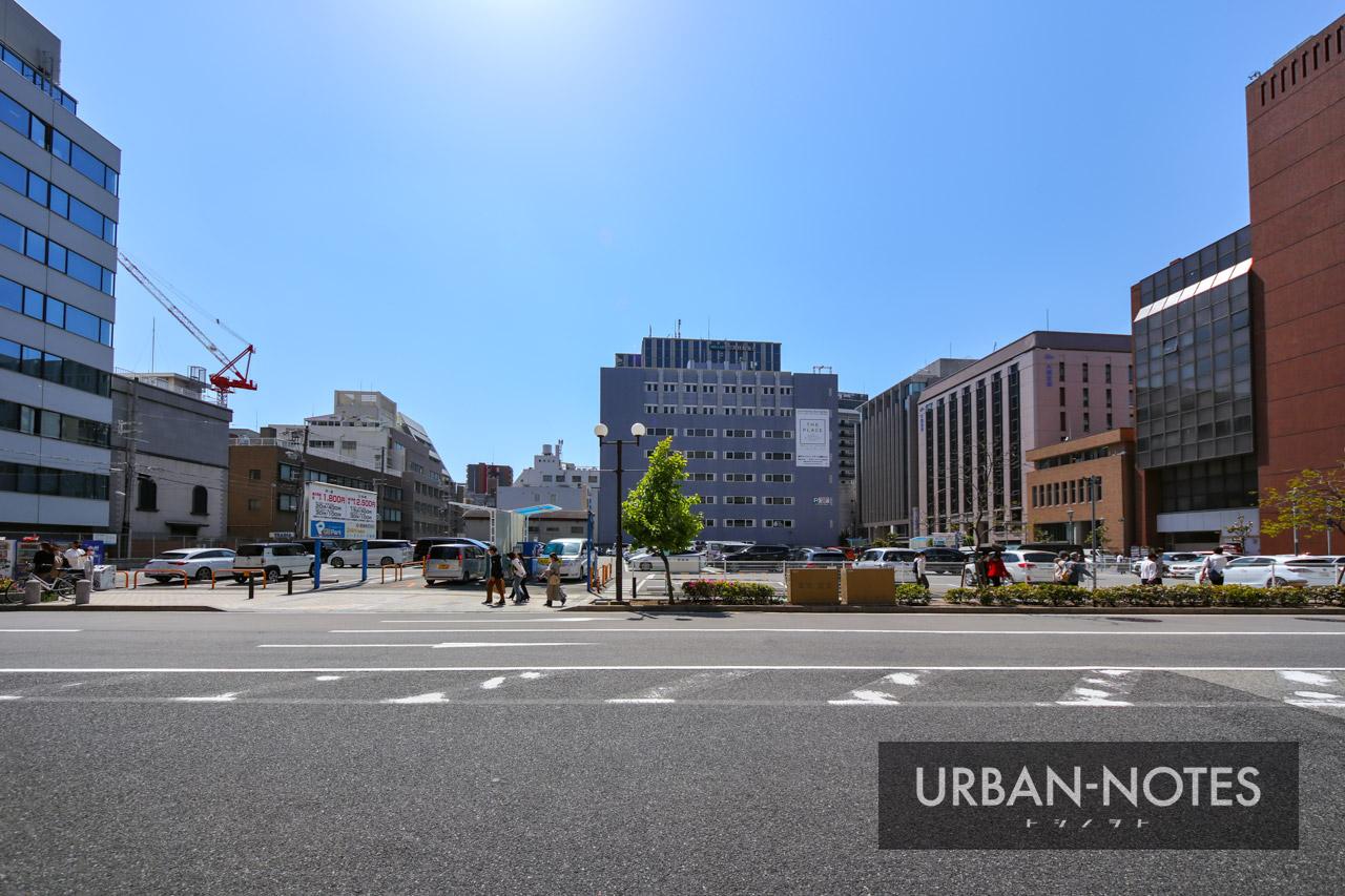 銀泉神戸ビル(旧神戸住友ビル)跡地 2021年5月 02