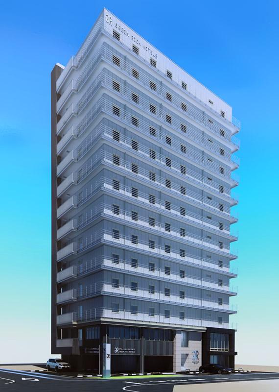 グリーンリッチホテル神戸三宮 完成イメージ図