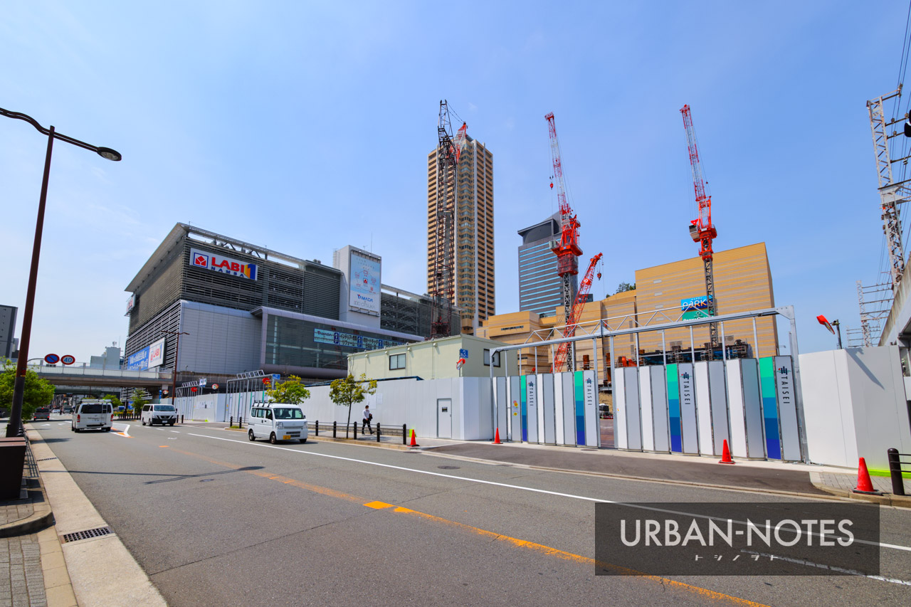 (仮称)ホテル京阪なんばグランデ (難波中二丁目開発C敷地) 2021年5月 01