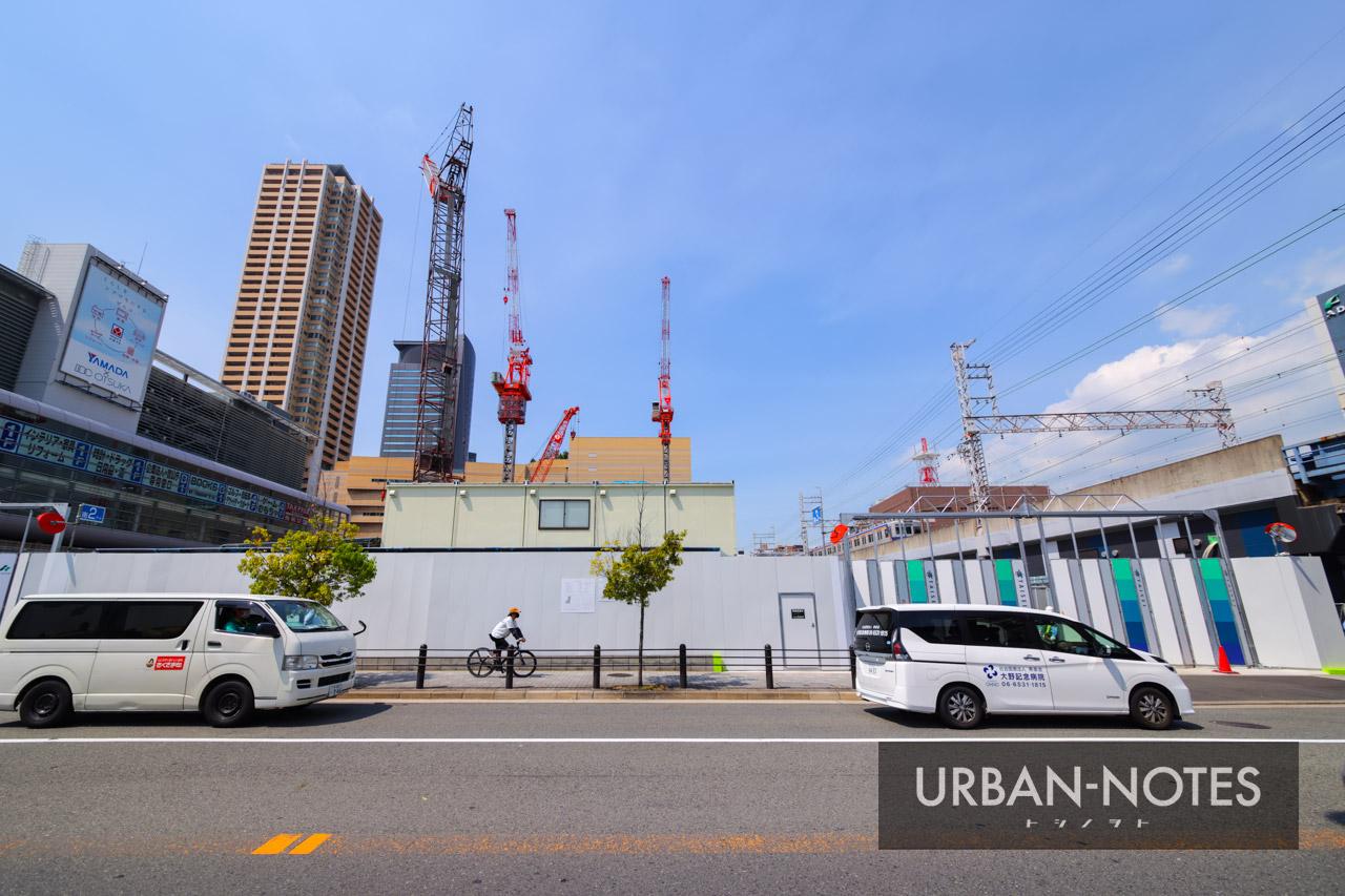 (仮称)ホテル京阪なんばグランデ (難波中二丁目開発C敷地) 2021年5月 02