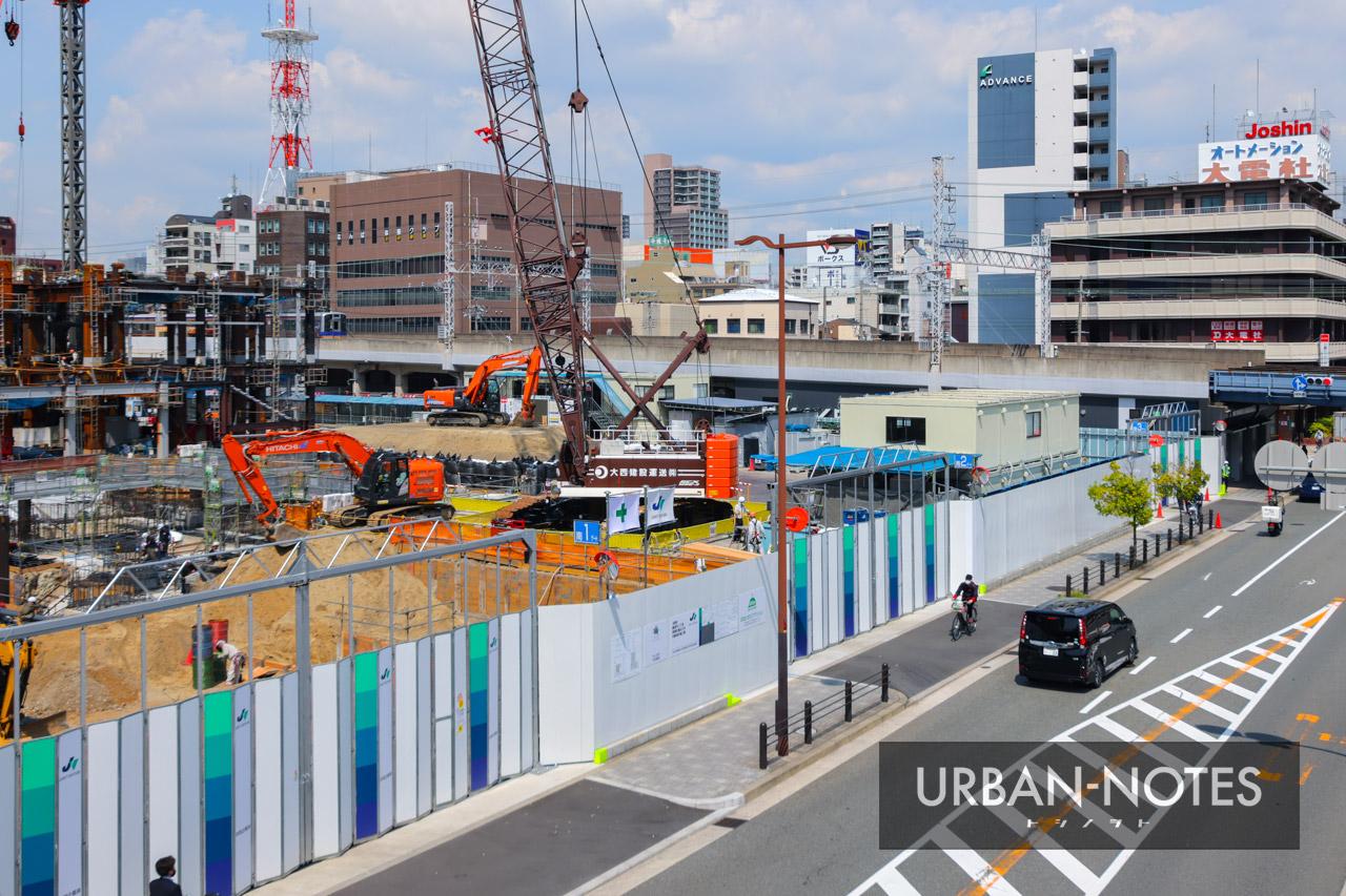 (仮称)ホテル京阪なんばグランデ (難波中二丁目開発C敷地) 2021年5月 03