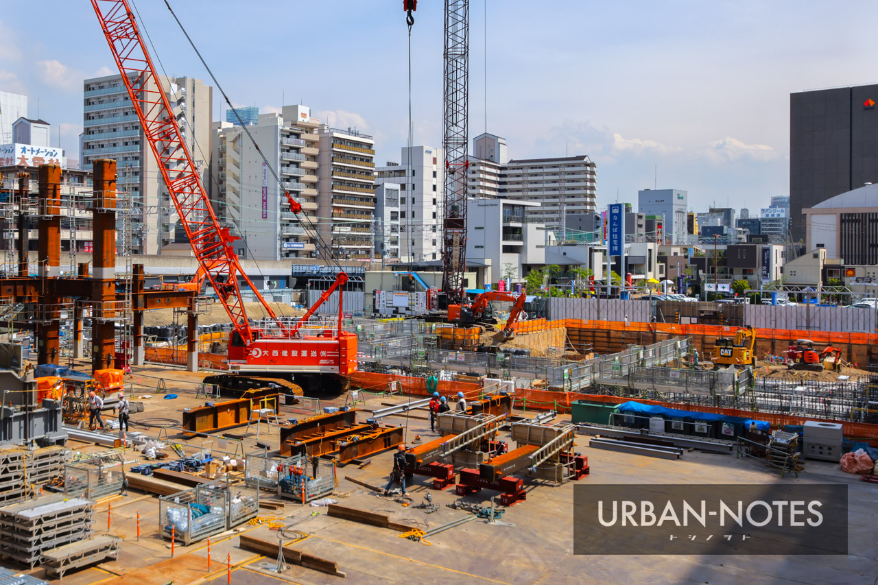 (仮称)ホテル京阪なんばグランデ (難波中二丁目開発C敷地) 2021年5月 04