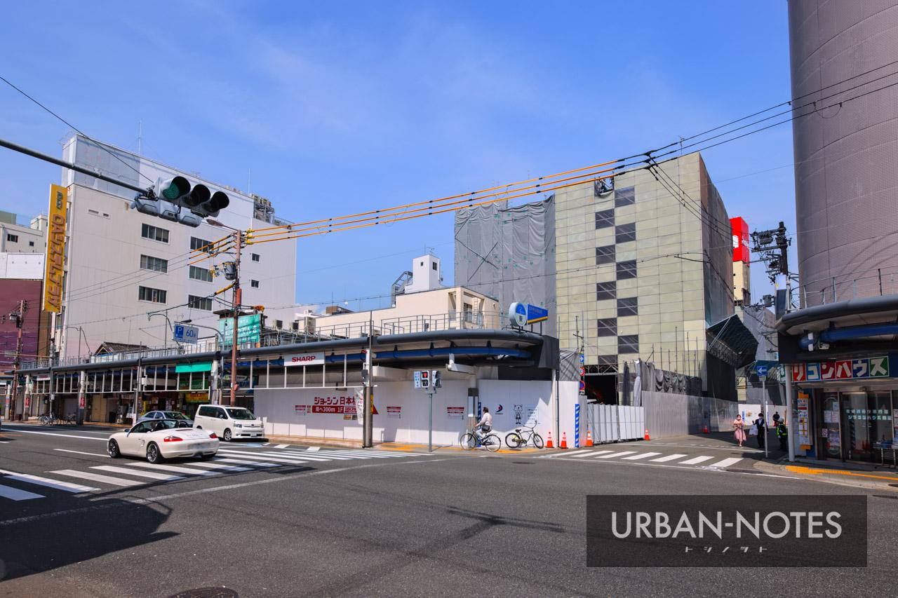 ジョーシン ディスクピア日本橋店&日本橋1ばん館 解体工事 2021年5月 01