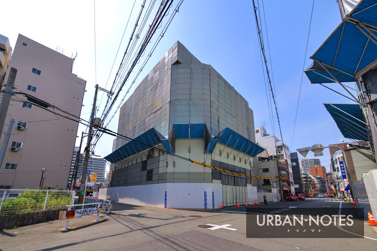 ジョーシン ディスクピア日本橋店&日本橋1ばん館 解体工事 2021年5月 03
