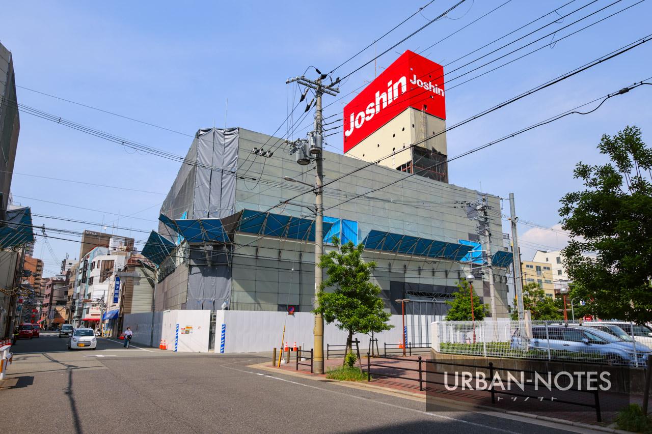 ジョーシン ディスクピア日本橋店&日本橋1ばん館 解体工事 2021年5月 04