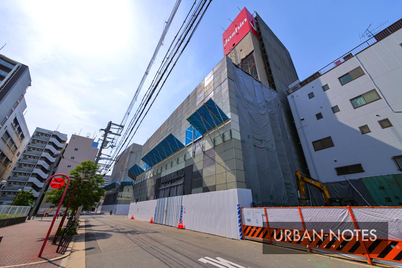 ジョーシン ディスクピア日本橋店&日本橋1ばん館 解体工事 2021年5月 05