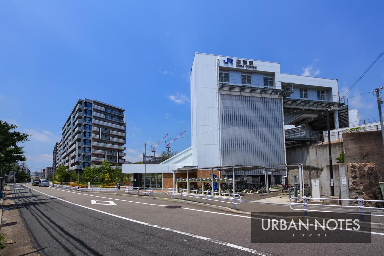 JR摩耶駅 2021年6月 01