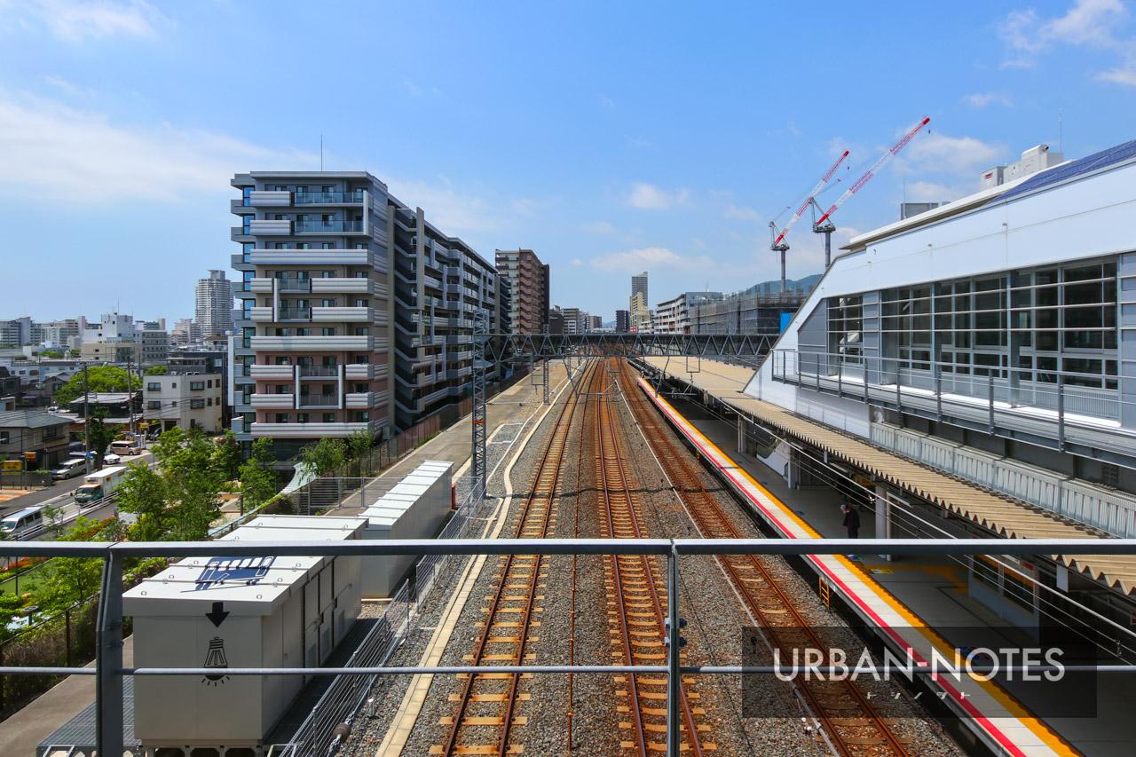 JR摩耶駅 2021年6月 02