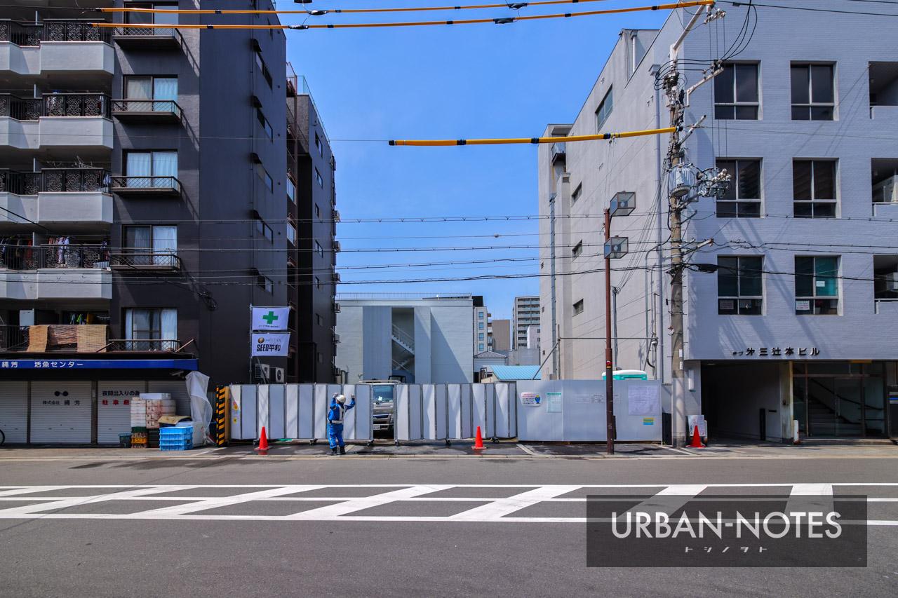(仮称)プレサンス浪速区敷津東1丁目 新築工事 2021年5月 02
