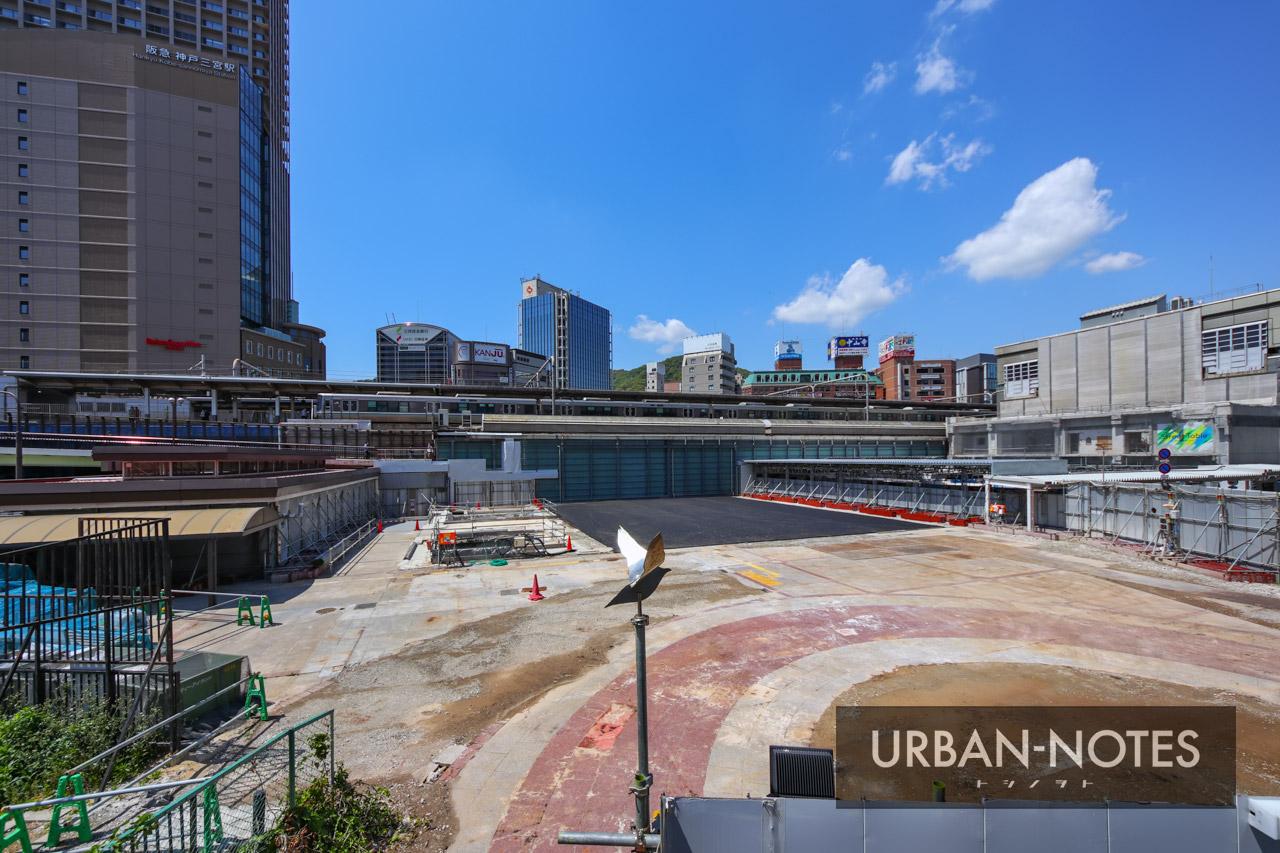 三宮ターミナルビル跡地再開発 2021年5月 01