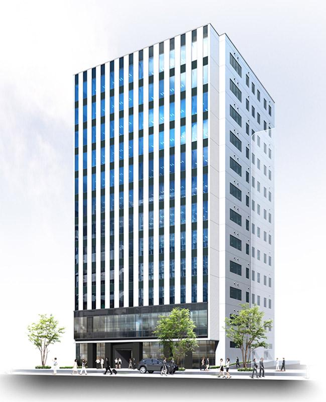 (仮称)三宮町一丁目オフィス 完成イメージ図