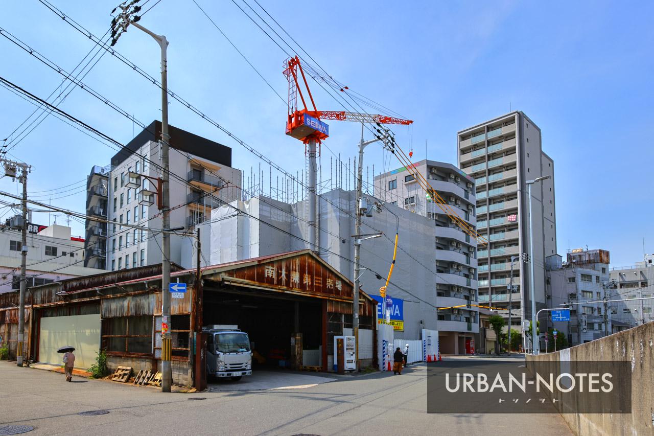 生和コーポレーション (仮称)敷津東1丁目プロジェクト新築工事 2021年5月 01