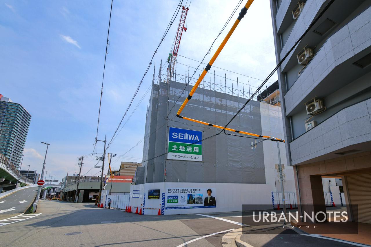生和コーポレーション (仮称)敷津東1丁目プロジェクト新築工事 2021年5月 02