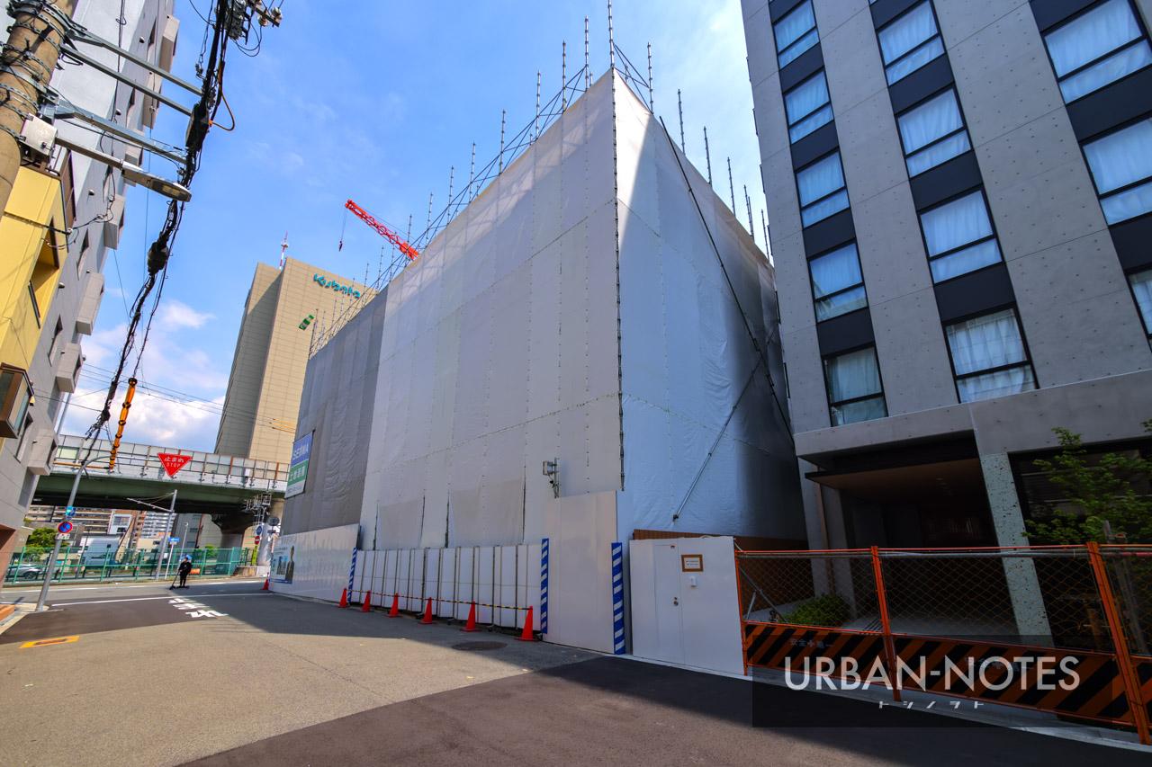 生和コーポレーション (仮称)敷津東1丁目プロジェクト新築工事 2021年5月 03
