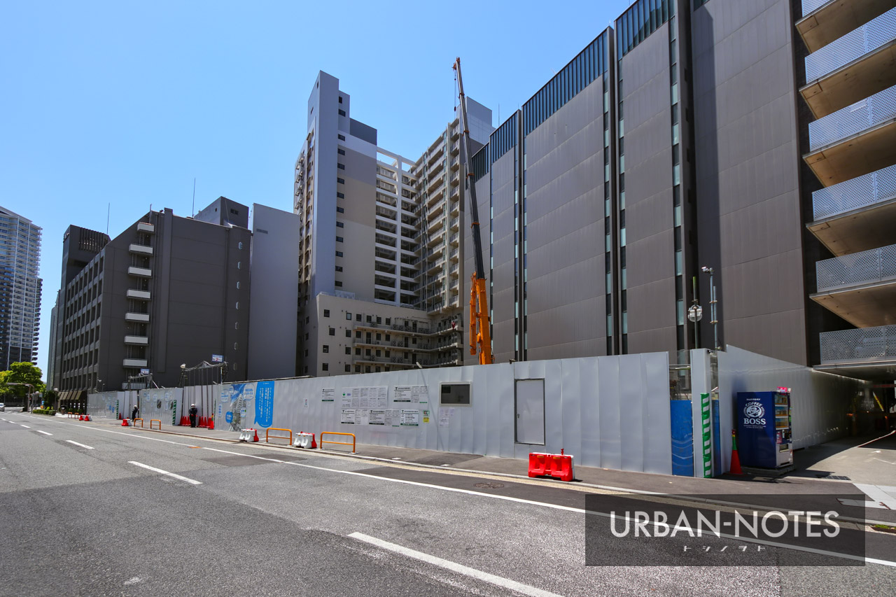 (仮称)新中央区総合庁舎他建設工事 2021年5月 01