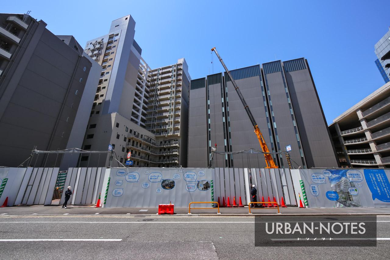 (仮称)新中央区総合庁舎他建設工事 2021年5月 02
