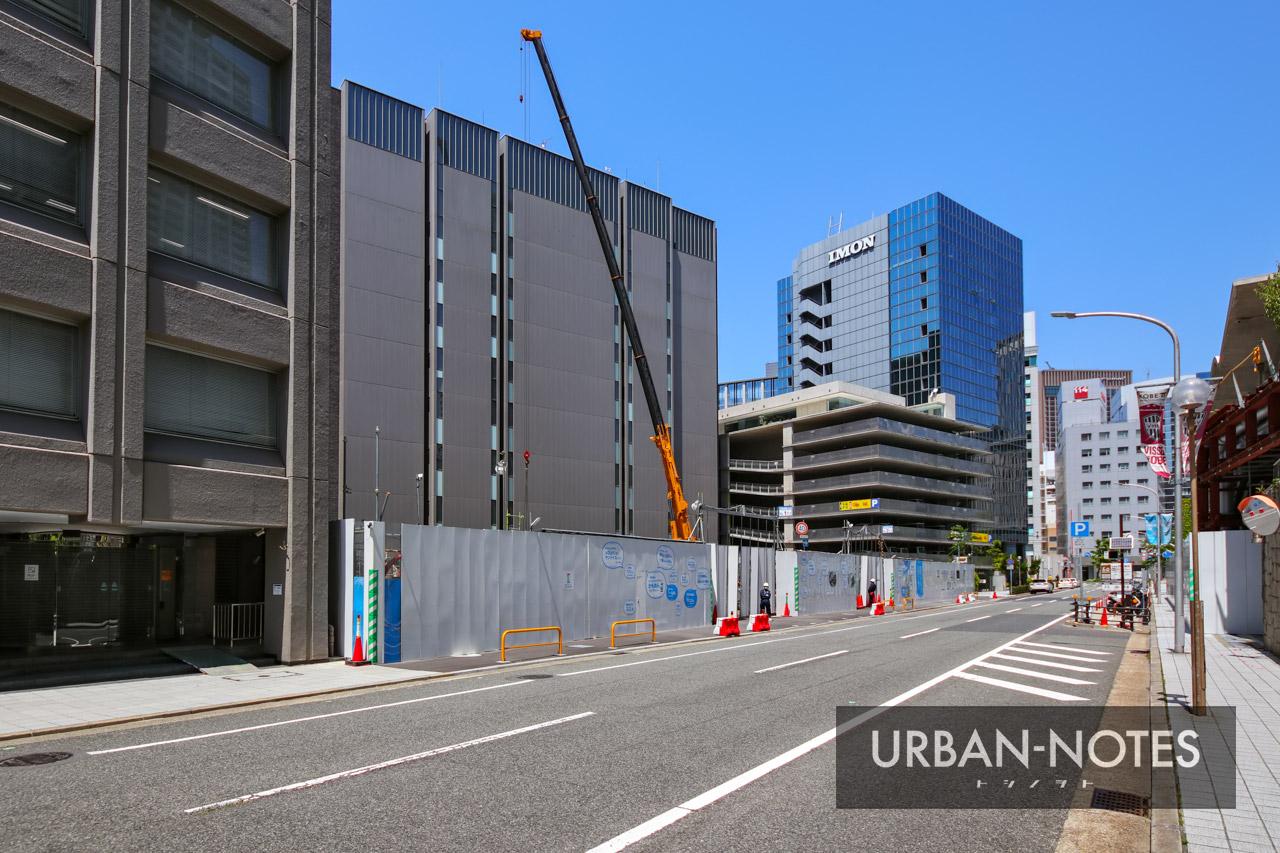 (仮称)新中央区総合庁舎他建設工事 2021年5月 03