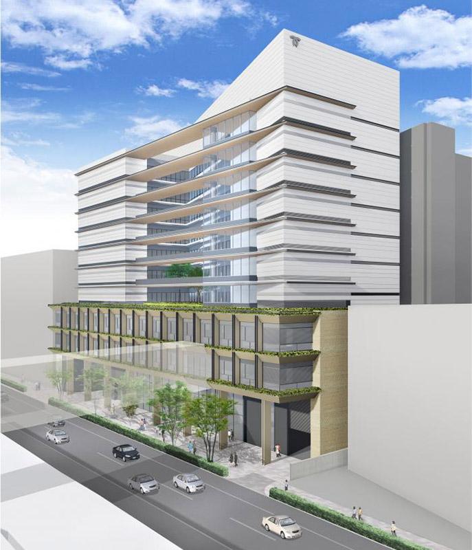 (仮称)新中央区総合庁舎他建設工事 完成イメージ図 01
