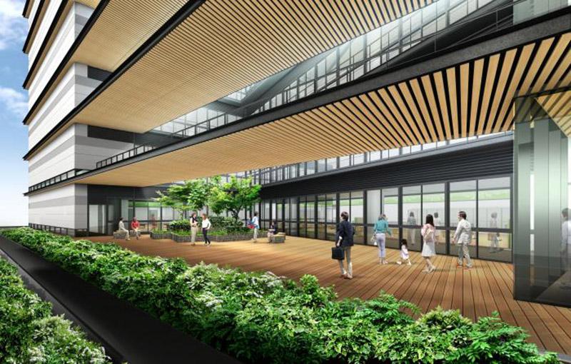 (仮称)新中央区総合庁舎他建設工事 完成イメージ図 03