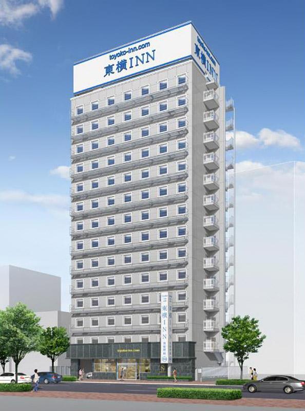 東横INN神戸三ノ宮駅市役所前 完成イメージ図