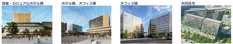 万博記念公園駅前周辺地区活性化事業 完成イメージ図 02