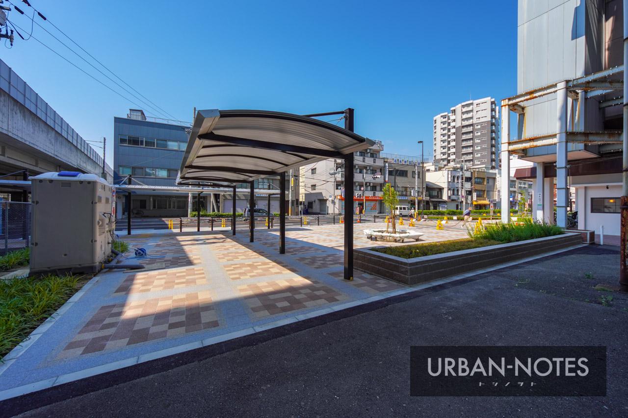 河内永和駅前交通広場 2021年6月 03