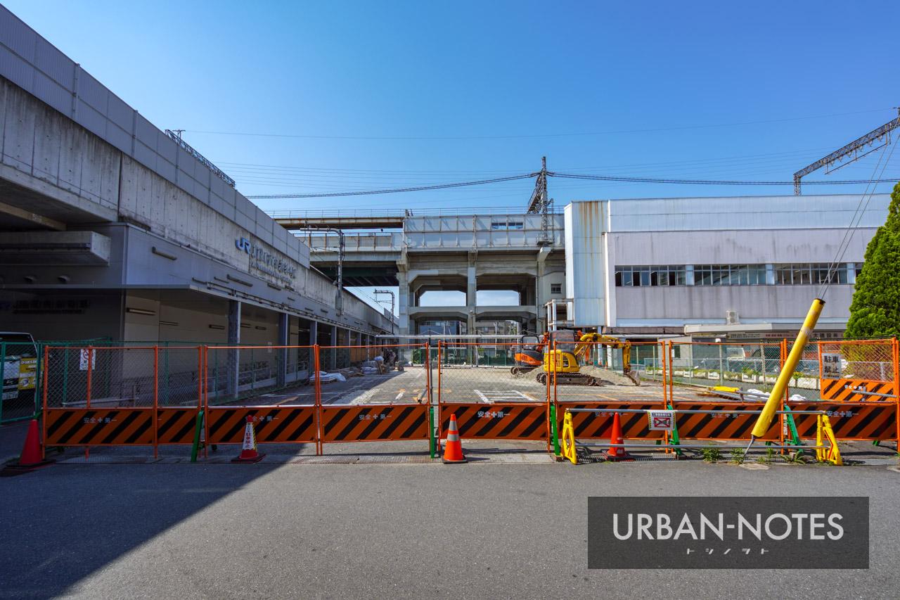 河内永和駅前交通広場 2021年6月 05