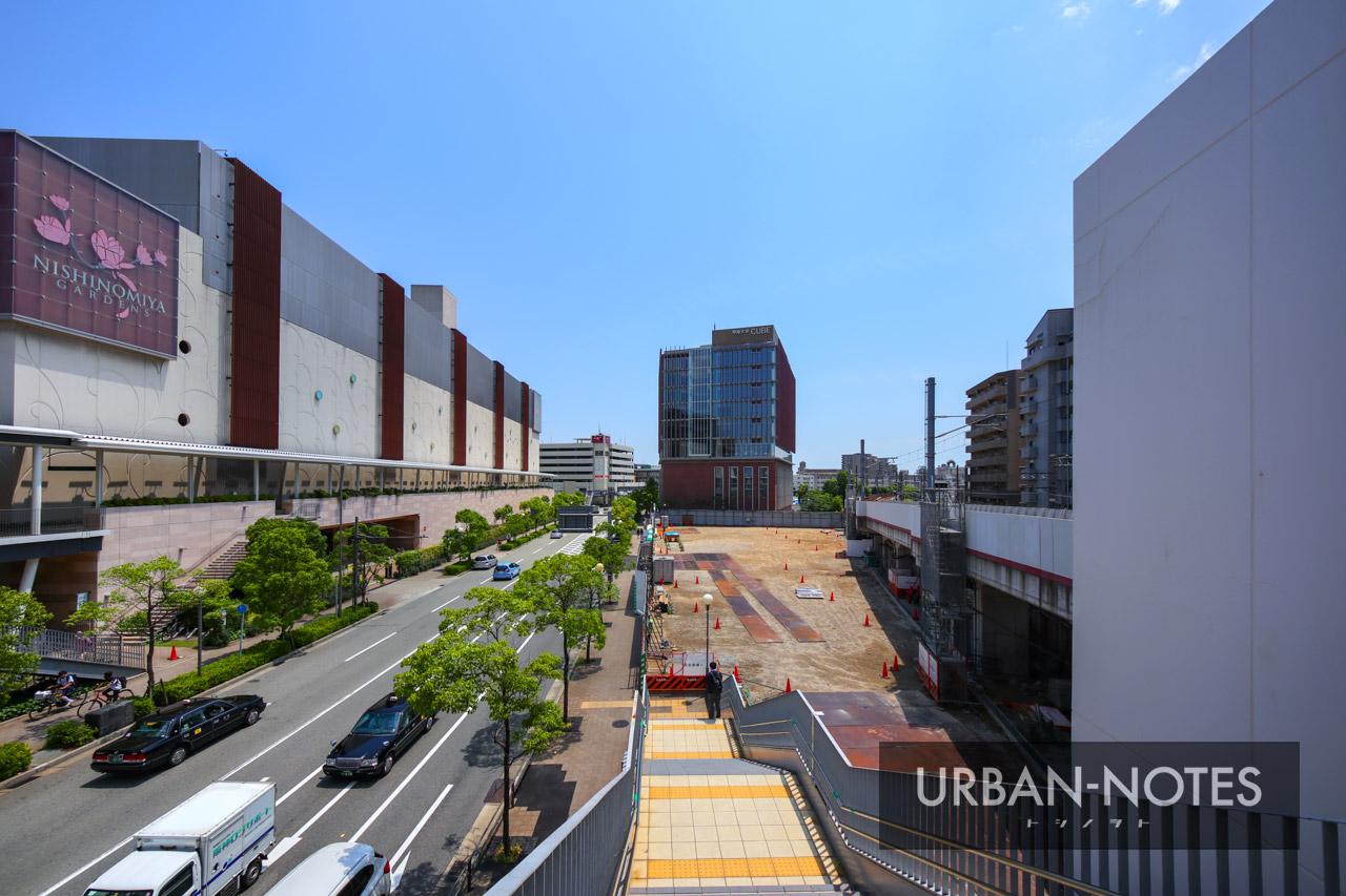 (仮称)阪急西宮ガーデンズ西側土地開発計画 2021年6月 01