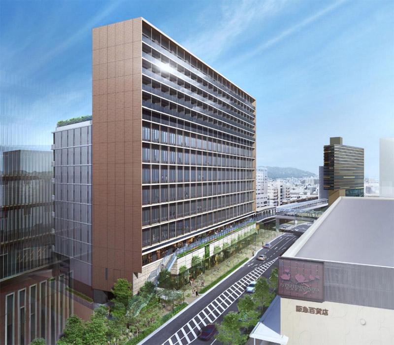 (仮称)阪急西宮ガーデンズ西側土地開発計画 完成イメージ図 02