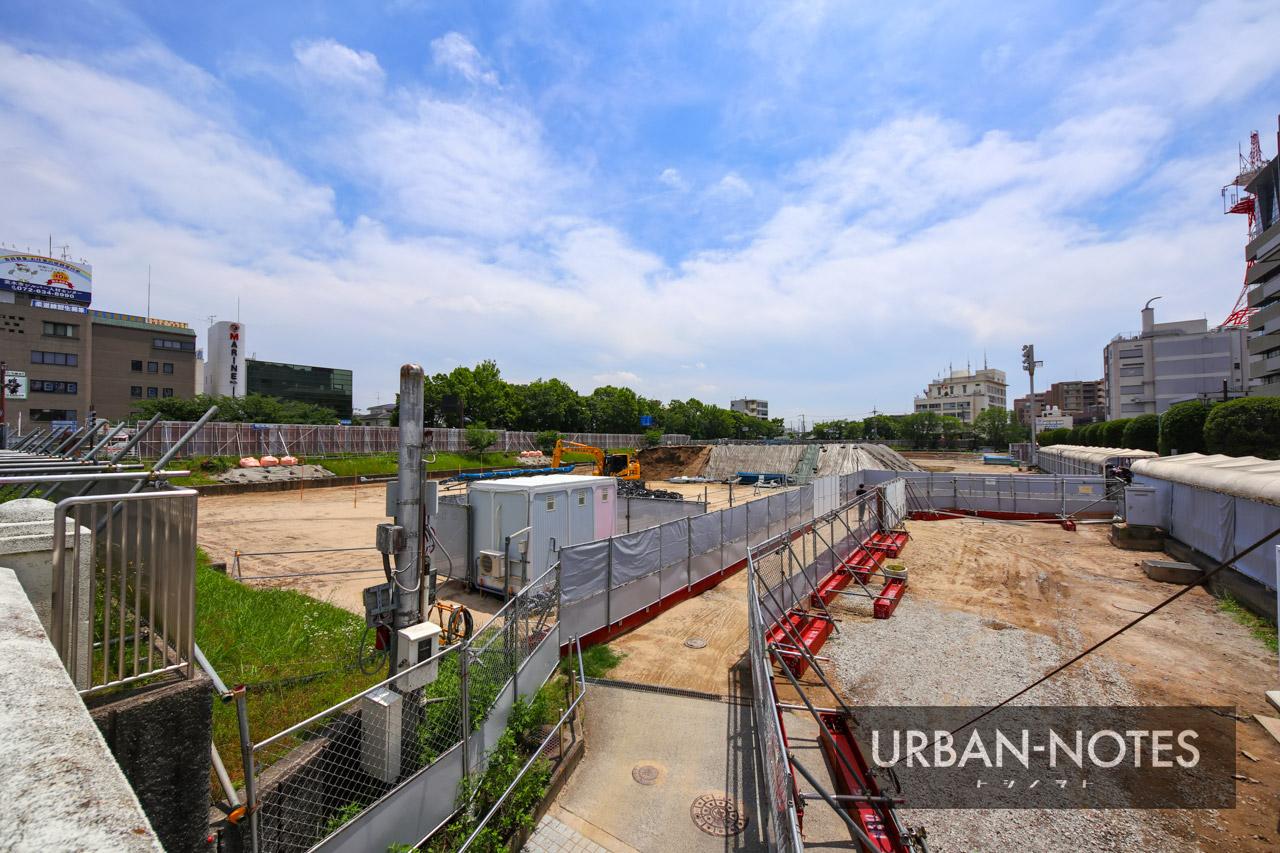 茨木市市民会館跡地エリア整備事業 2021年6月 07