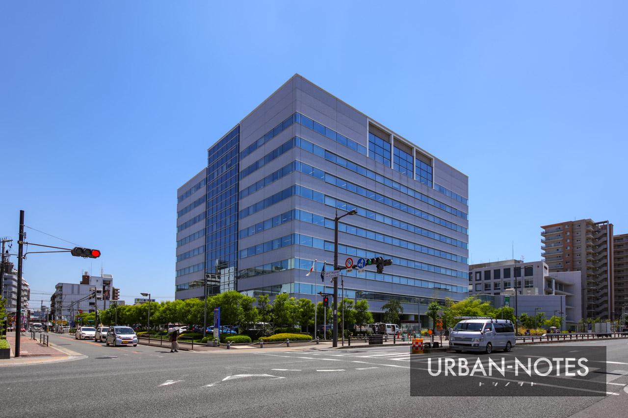 守口市役所新庁舎 2021年6月